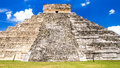 Chichen itza chicnen archaeological site Royalty Free Stock Photo