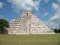 Chichen Itza El Castillo, Yucatan Mexico Royalty Free Stock Photography