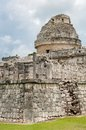 Chichen itza mayan observatory at yucatan peninsula mexico Stock Photo