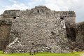 Chichen itza mayan ruins at yucatan peninsula mexico Stock Image