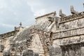 Chichen itza mayan ruins at yucatan peninsula mexico Royalty Free Stock Images