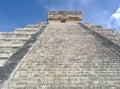 Chichen itza at mexico Royalty Free Stock Photos