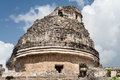 Chichen Itza Observatory Mexico Royalty Free Stock Photos