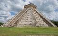 CHICHEN ITZA: PYRAMID OF KUKULCAN. MEXICO Royalty Free Stock Photo