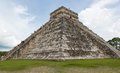 Chichen itza pyramid mayan ruins at yucatan peninsula mexico Stock Images