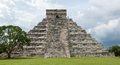 Chichen itza pyramid mayan ruins at yucatan peninsula mexico Royalty Free Stock Photo