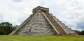 Chichen itza pyramid mayan ruins at yucatan peninsula mexico Stock Photo