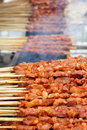 Chiches kebabs Photos stock