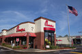 Chick fil a jacksonville fl march fast food restaurant in jacksonville specializing in chicken sandwiches has over Royalty Free Stock Image