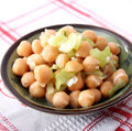 Chick Peas Royalty Free Stock Photography