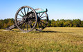 Chickamauga and chattanooga national military park cannon Royalty Free Stock Photos