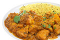 Chicken Bengal Indian Curry Stock Image