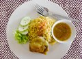 Chicken-Biryani Royalty Free Stock Photo