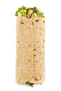 Chicken Caesar Wrap Royalty Free Stock Photo