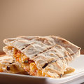 Chicken and cheese quesadillas Stock Images