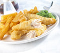 Chicken chips Stock Photography