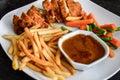 Chicken cordon bleu Royalty Free Stock Photo