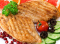Chicken cutlets Royalty Free Stock Photo