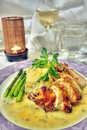 Chicken entree Royalty Free Stock Photo