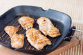 Chicken grill homemade delicious on a table Royalty Free Stock Photography