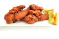 Chicken hot wings Stock Photography