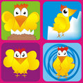 Chicken illustration Stock Images