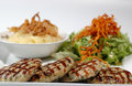 Chicken kabab Stock Photo