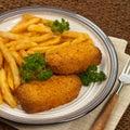 Chicken Kiev Royalty Free Stock Photo