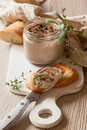 Chicken liver pate Royalty Free Stock Photo