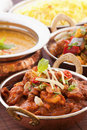 Chicken madras Stock Images