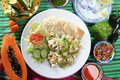 Chicken mojo de ajo garlic sauce mexican Royalty Free Stock Photography
