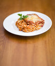 Chicken parmigiana Stock Image