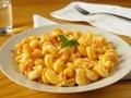 Chicken Pasta Stock Image
