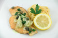 Chicken Piccata Royalty Free Stock Photo