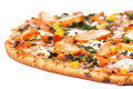 Chicken pizza Royalty Free Stock Photo
