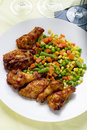 Chicken recipe 库存照片