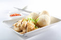 Chicken Rice Stock Photo