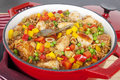 Chicken with Rice Arroz Con Pollo Royalty Free Stock Images