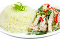 Chicken Rice Dish Stock Photos