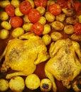 Chicken roast Royalty Free Stock Photo