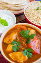 Chicken Rogan Josh Royalty Free Stock Photos