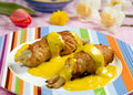 Chicken rolls Royalty Free Stock Photography