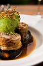Chicken Roulade Royalty Free Stock Photo