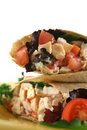 Chicken Salad Wrap 3 Royalty Free Stock Photos