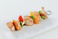 Chicken Shish kebab Royalty Free Stock Photo