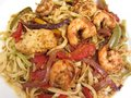 Chicken and Shrimp Jambalaya Royalty Free Stock Photo