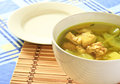 Chicken soup. Stock Photography