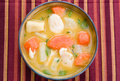 Chicken Soup - Caribbean Style Royalty Free Stock Photo