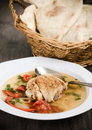 Chicken sour soup Royalty Free Stock Images