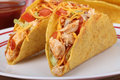 Chicken Taco Dinner Royalty Free Stock Images